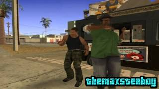 GTA San Andreas Loquendo || CJ y Big Smoke Venden Helado