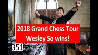 Wesley So wins first leg of 2018 Grand Chess Tour!