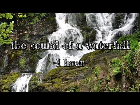 【環境音/ASMR】滝の音 1時間 the sound of a waterfall -1hour-〈立体音響・映像有り〉