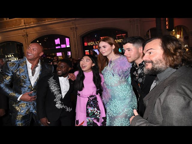 JUMANJI: THE NEXT LEVEL – World Premiere in Los Angeles