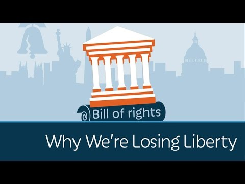 Why We're Losing Liberty