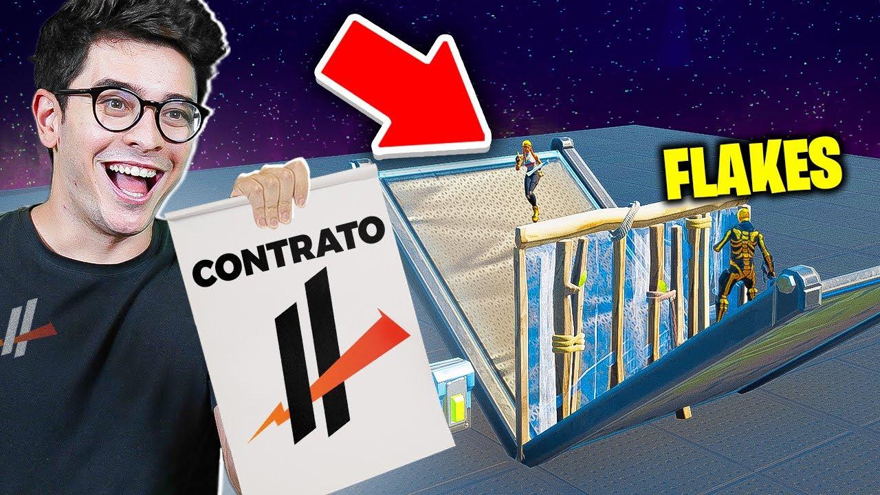 Download CONTRATEI QUEM ME VENCER NO X1 NO FORTNITE HERO BASE!