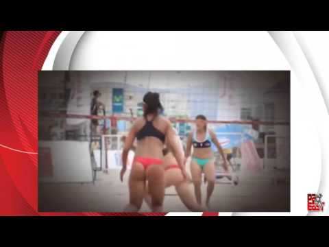 a40c80ecb2b Top 10 Revealing Moments in Women's Beach Volleyball - YouTube