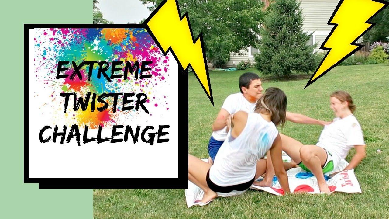 Extreme Twister Challenge - YouTube