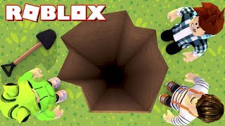 Roblox-DIG the biggest HOLE in the WORLD!!
