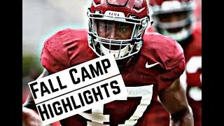 Alabama Crimson Tide Football: Watch linebackers Christian Miller and Eyabi Anoma