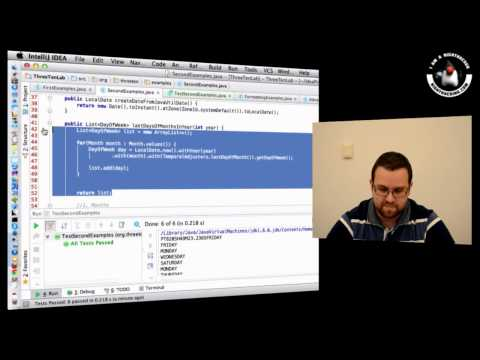 Java 8 Date and Time API with Jim Gough