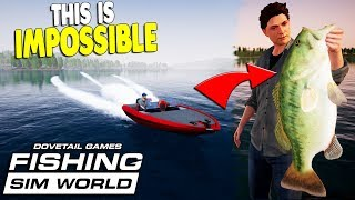 FIRST LOOK: Fast Boats, Big Fish, Realistic Fishing Simulator | Fishing Sim World Gameplay