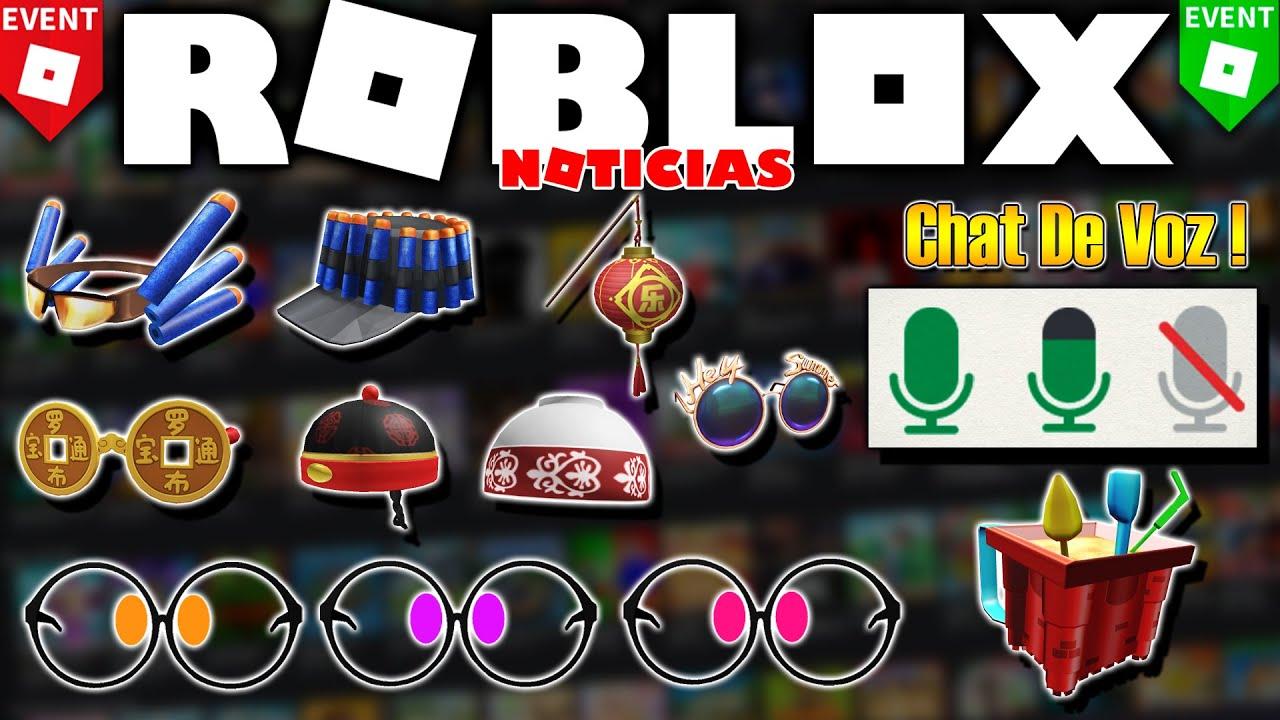 ⚡ Lluvia de PREMIOS y Eventos! Chat de Voz en ROBLOX ACTIVADO! ✔️ (Noticias Roblox)