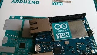 Introduction To The Arduino Yun #1