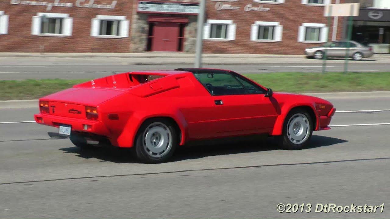 Lamborghini Jalpa Fast Accelerations Youtube