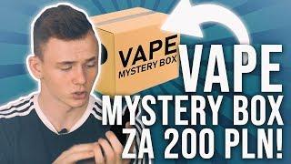 OTWIERAMY VAPE MYSTERY BOX ZA 200 PLN! *mały troll*
