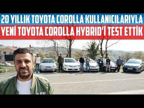20 Yıllık Toyota Kullanıcılarıyla   Yeni Corolla Hybrid'i Test Ettik!