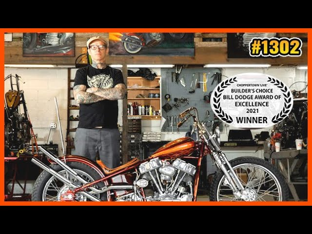 Born To Ride TV - Choppertown LIVE 1st Place Builder Interview