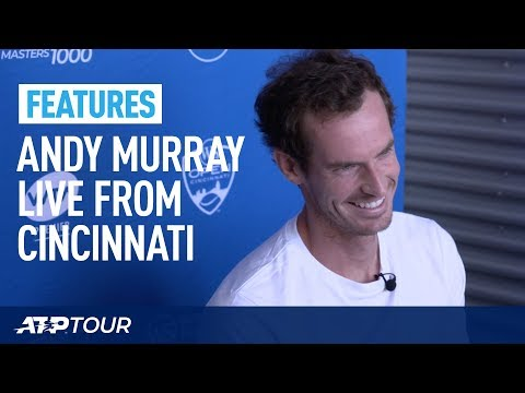 Andy Murray's Media Exclusive In Cincinnati | FEATURES | ATP