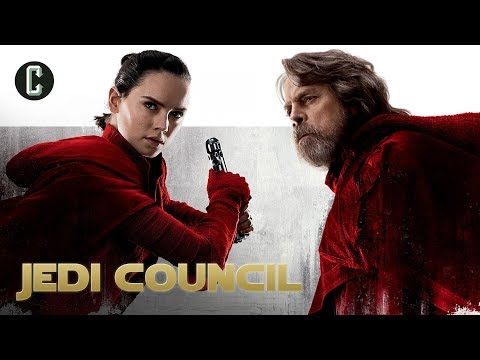 The Last Jedi: Will Rey Fight Luke? - Jedi Council