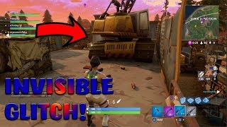 *NEW* FORTNITE INVISIBLE GLITCH in JUNK JUNCTION! (Fortnite Battle Royale New Update)