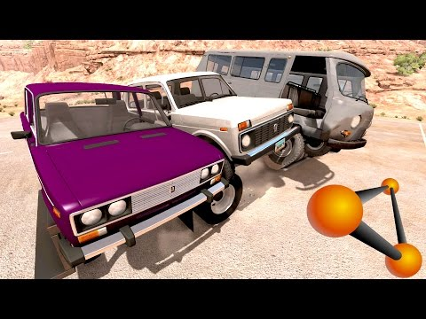 Эвакуируем отечественный автопром | beamng.drive