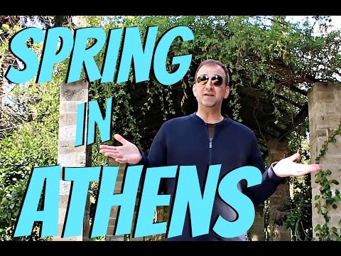Athens Greece Travel Vlog  | Downtown and Spring Carnival Time