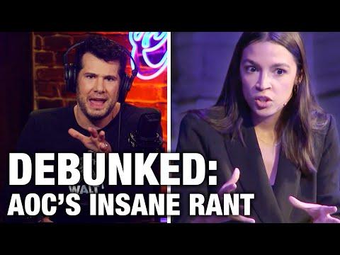 REBUTTAL: AOC's Insane Anti-American Rant | Louder with Crowder