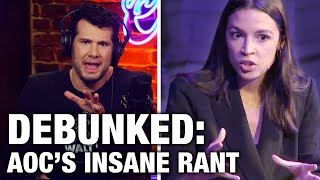 REBUTTAL: AOC's Insane Anti-American Rant | Louder with Crowder