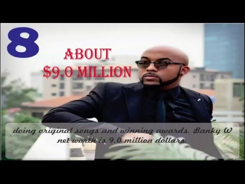 Top 10 Richest Nigeria Hiphop Artist in 2017 with their Networth - (Official video)