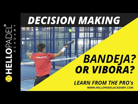 Vibora and Bandeja - Learn Padel with the PROs - by HELLO PADEL ACADEMY