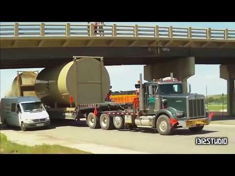 TRUCKS VS BRIDGES: overhead clearance