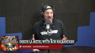 INSIDE METAL TV w/ Bob Nalbandian and Guest Jack Hadjinian The Metal Mayor- 6/9/15