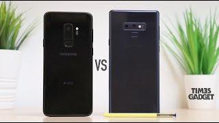Confronto Galaxy Note 9 vs Galaxy S9plus