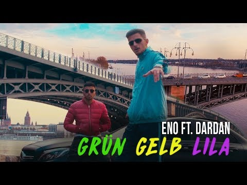 ENO feat. DARDAN - Grün Gelb Lila ► Prod. von KatManDu Sounds (Official Video)