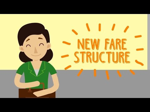 New fare structure for public transport