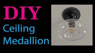 DIY Ceiling Medallion