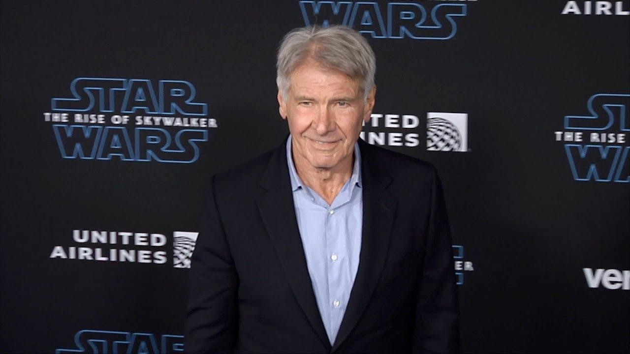 Harrison Ford Star Wars The Rise Of Skywalker World Premiere Blue Carpet Youtube