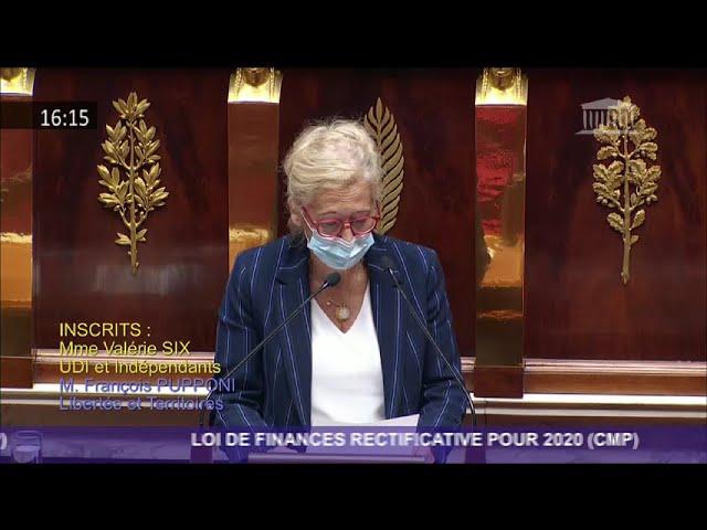 23 11 2020 Valérie SIX - Discussion générale PLFR4