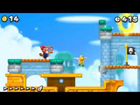 New Super Mario Bros. 2 - 100% Walkthrough - World 5 (All Star Coins & Secret Exits)