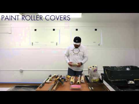 paint roller covers