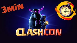 ClashCon walkthrough | Vlog | Descubriendo Clash of Clans