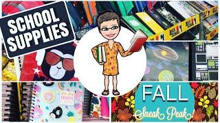 DOLLAR TREE | Shop With Me | BACK TO SCHOOL 🍎 | July 11, 2019 | Fall Sneak Peak 🍁