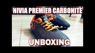 f19fcabee55d Nivia Premier Carbonite Football Shoe for man(Orange