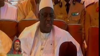 Décès de Serigne Cheikh Tidiane Al Makhtoum – Réaction du président de la république Macky Sall