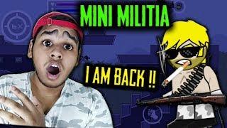 Mini Militia The RETURN of The KingAnBru !! EPIC GODLIKE GAMEPLAY | Doodle Army 2: Mini Militia #116