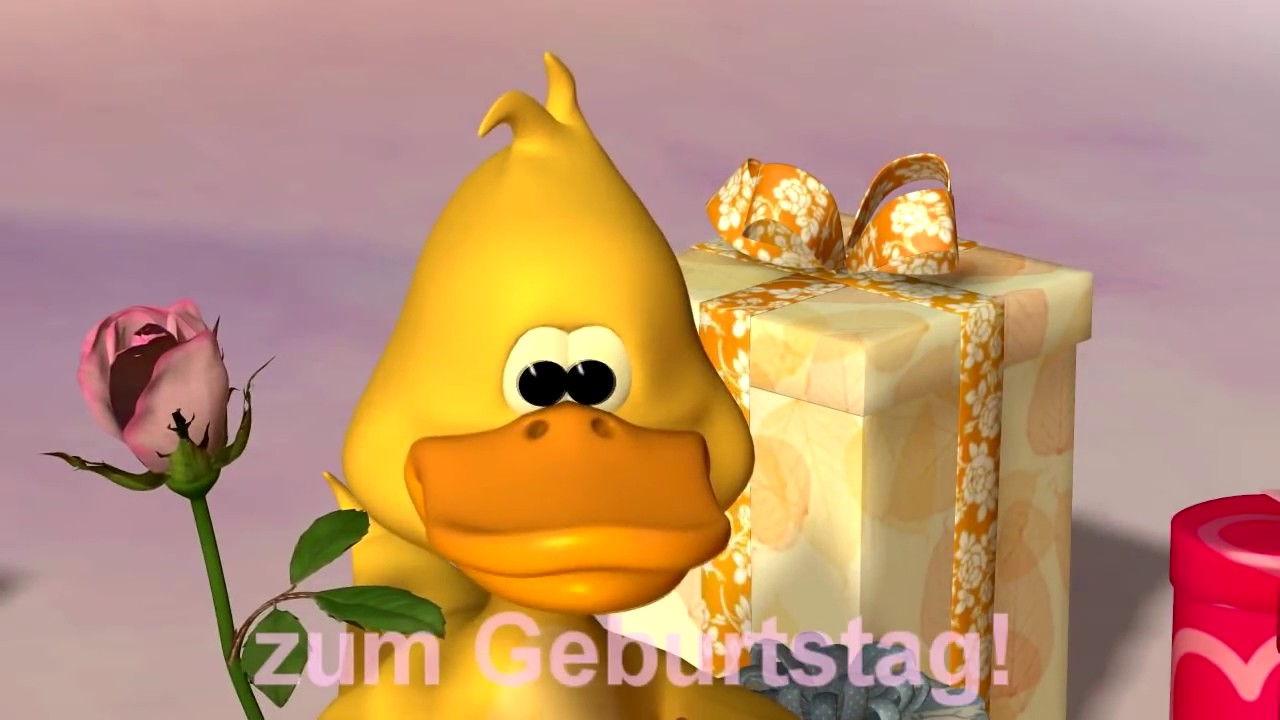 Happy Birthday Song Duck(german)