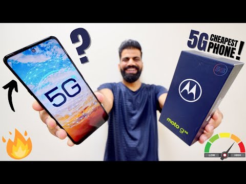 Moto G 5G Unboxing & First Look - India's Best Value 5G Phone!!! 5G Speed x100