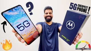 Moto G 5G Unboxing amp First Look - India 39 s Best Value 5G Phone 5G Speed x100