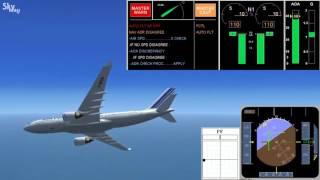 23 A330 Air France stalling | Сваливание самолета а330