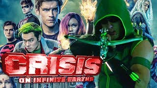 Crisis On Infinite Earths: Titans Confirmed! Smallville Green Arrow and 1989 Batman Character!