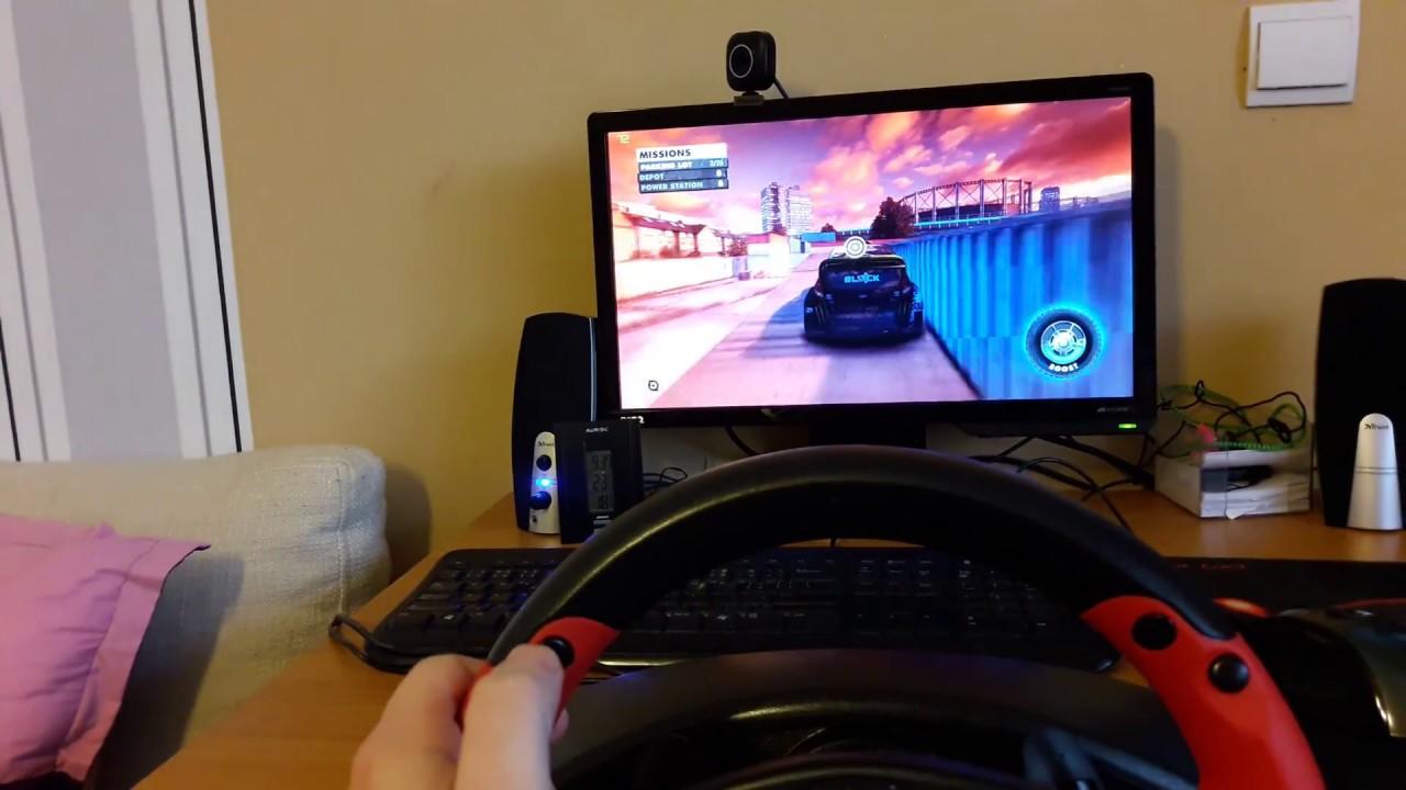 Quick Demo Of Thrustmaster Ferrari Racing Wheel Red Legend Edition Youtube