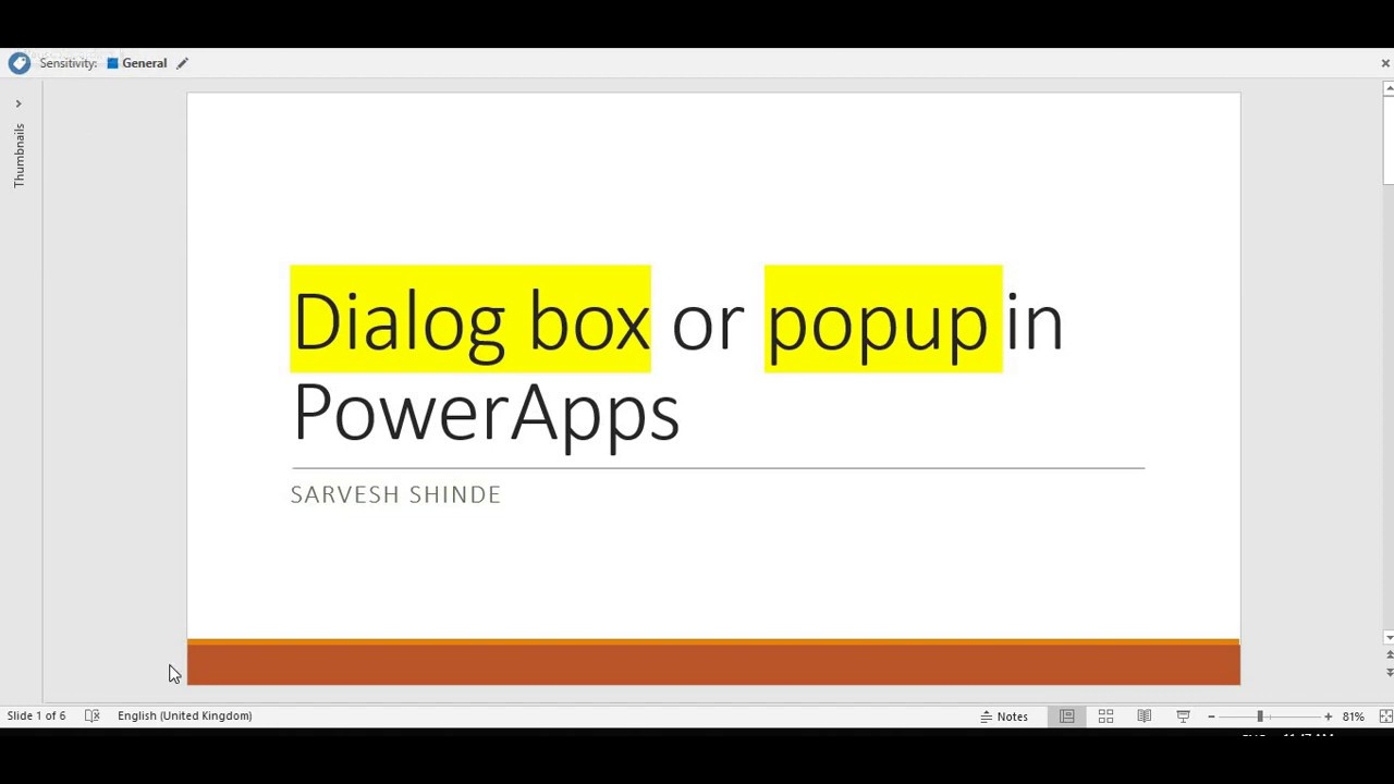 How To Display Dialog Box, Confirmation Box In PowerApps