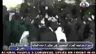 مراسيم عزاء الحسين ضرب عند نساء شيعه ونياحه ولطم